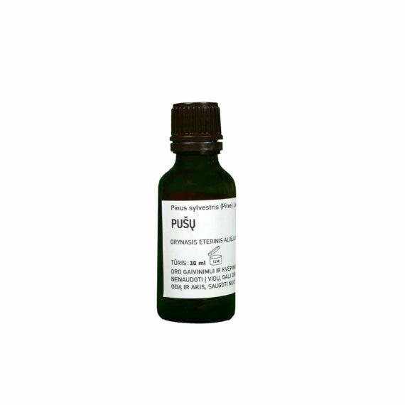 Sertifikuotas grynasis pušų eterinis aliejus 30 ml