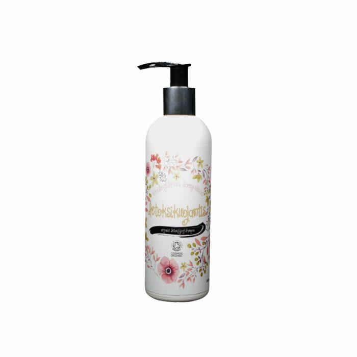 Sertifikuotas ekologiškas šampūnas Detoksikuojantis 200 ml 500 ml