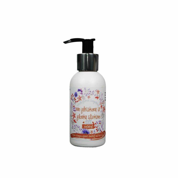 Ekologiškas šampūnas nuo pleiskanų ir plaukų slinkimo 100ml