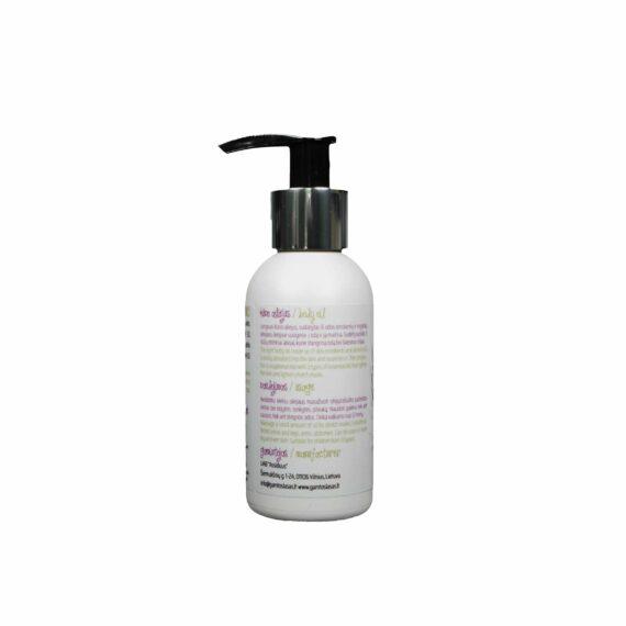 Ekologiškas Stangrinantis odą kūno aliejus 100 ml naudojimas