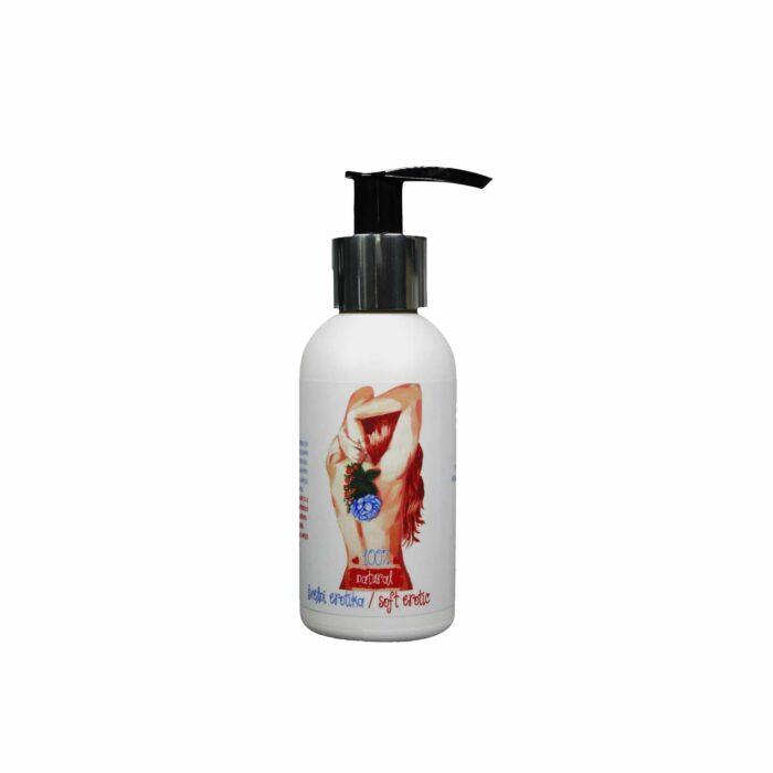 Ekologiškas ir natūralus masažo aliejus Švelni erotika 100ml